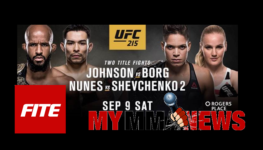 UFC pay-per-views now available on MyMMANews.com through FITE TV