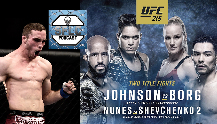 SFLC Podcast - UFC 215 staff picks, also Tony Martin joins show to talk UFC Pittsburgh fight