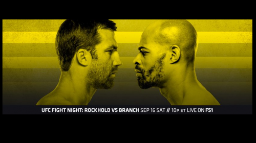UFC Fight Night 116 results - Luke Rockhold vs David Branch