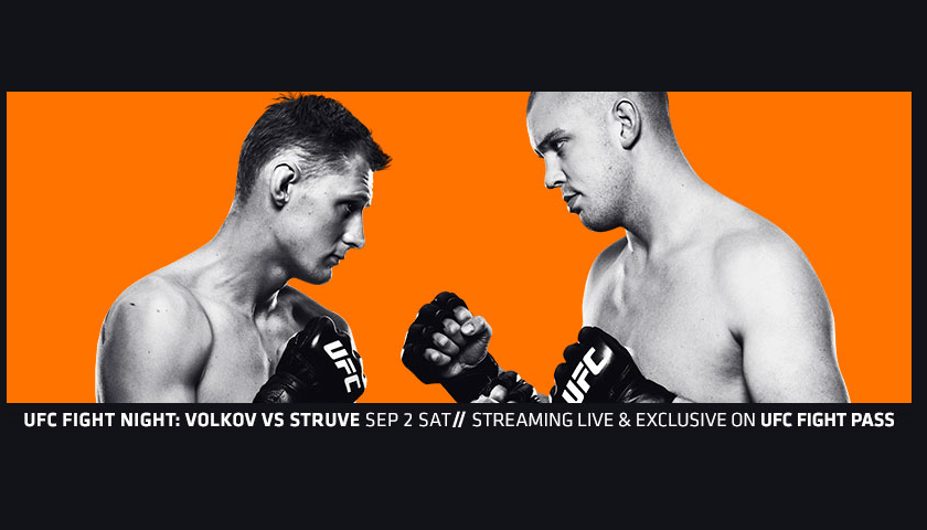 UFC Fight Night 115 Results from Rotterdam - Struve vs. Volkov
