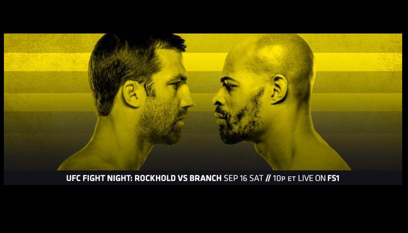 UFC Fight Night 116 results - Luke Rockhold vs David Branch