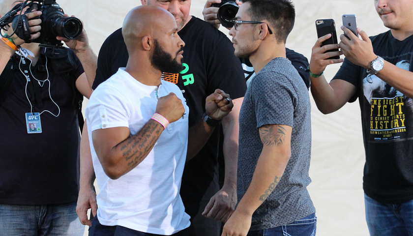 Demetrious Johnson vs Ray Borg rebooked for UFC 216