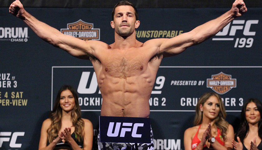 UFC Fight Night 116 weigh-in results from Pittsburgh – Luke Rockhold vs. David Branch