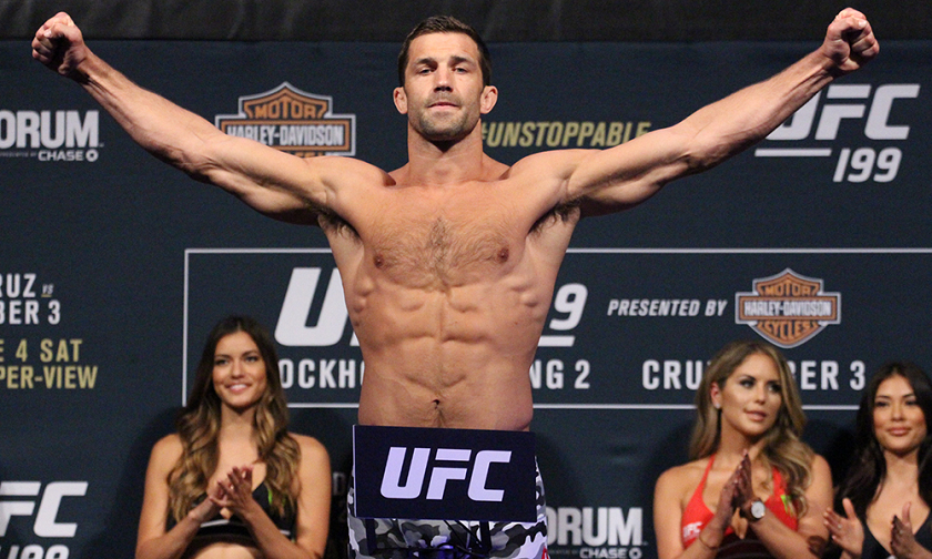 UFC Fight Night 116 weigh-in results from Pittsburgh - Luke Rockhold vs. David Branch