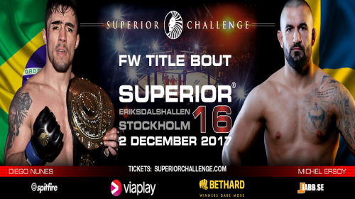 Michel Ersoy faces biggest fight of career at Superior Challenge 16