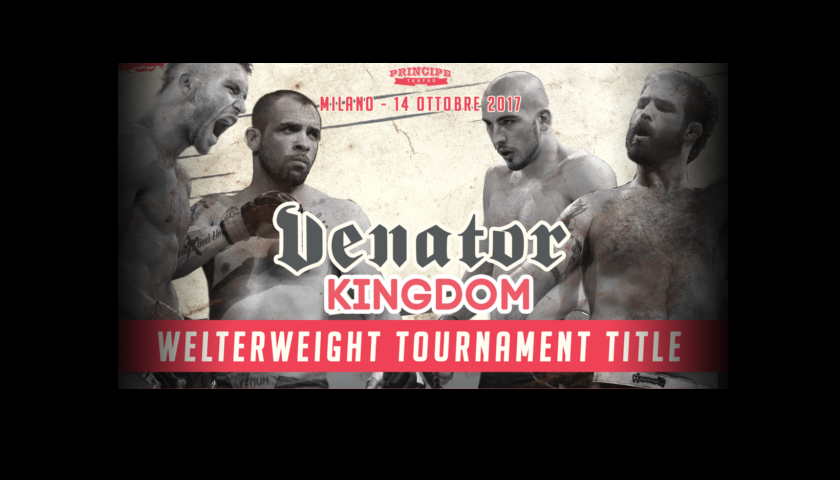 Venator FC returns with 'Kingdom', One-Night Tournament for Welterweight Title