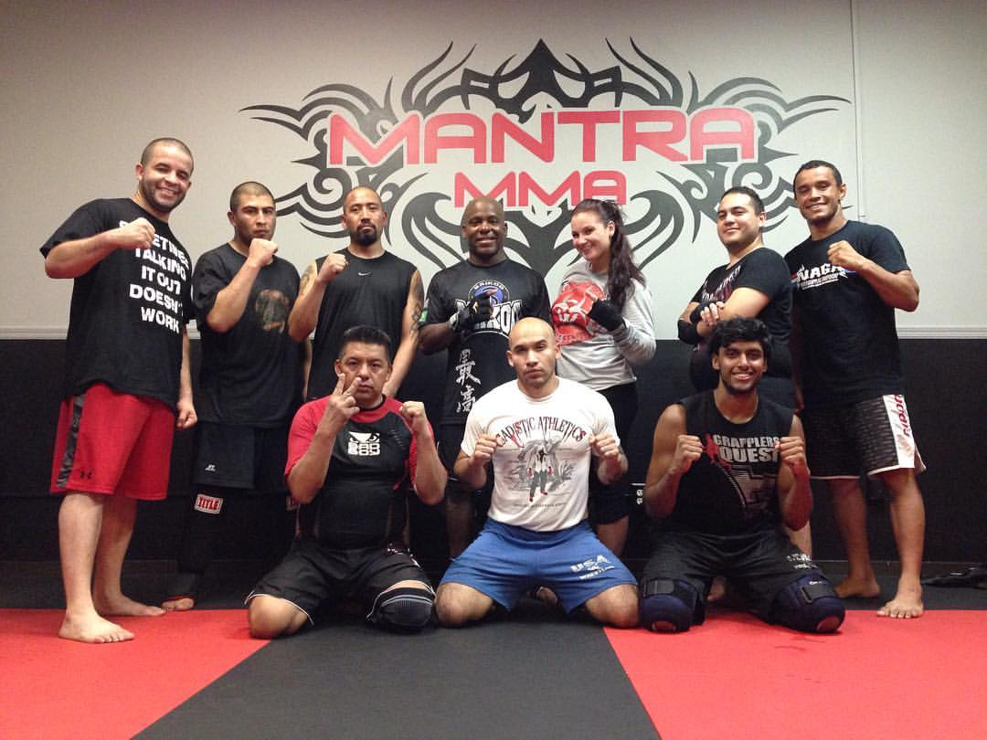 Manny Martinez training at Mantra MMA in Woodhaven