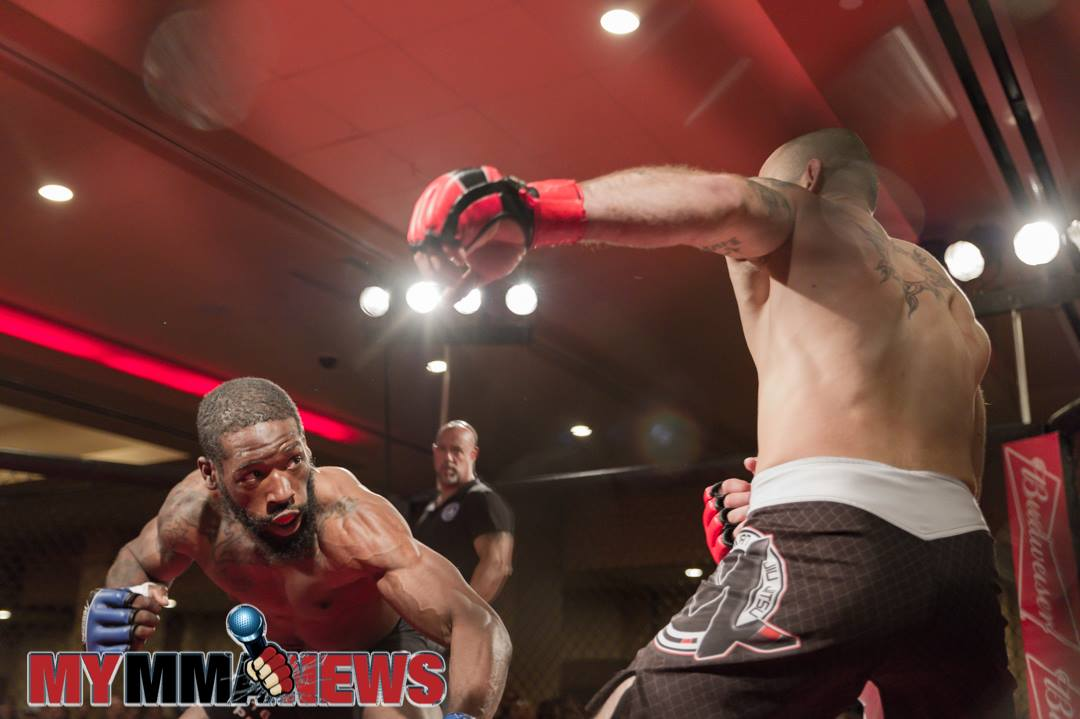 Sharif Jones vs Will Martinez