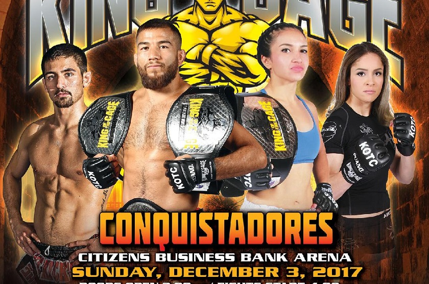 "Juan Archuleta defends KOTC bantamweight title against Mark Dicman at ""Conquistadors"""