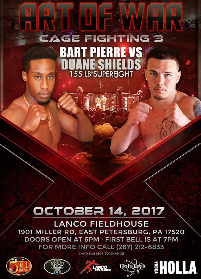 Bart Pierre vs. Duane Shields