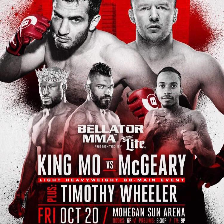 Bellator 185 - Timothy Wheeler