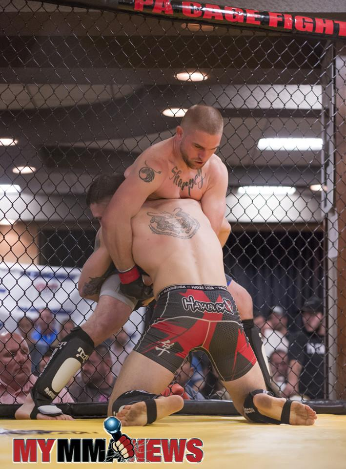 Collin Sharpe vs Ryan Rizco - PA Cage Fight 29