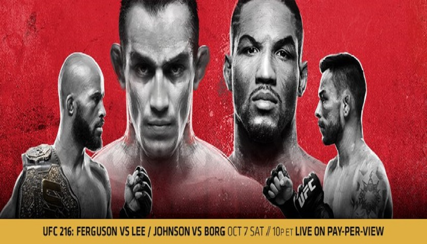 UFC 216 Results - Tony Ferguson vs. Kevin Lee
