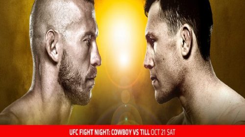 UFC Fight Night 118 results from Gdansk, Poland – Cerrone vs. Till