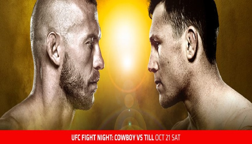 UFC Fight Night 118 results from Gdansk, Poland - Cerrone vs. Till