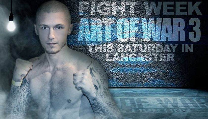 Art of War Cage Fighting 3 Results – Zak Kelly vs. Ryan DiBartolomeo