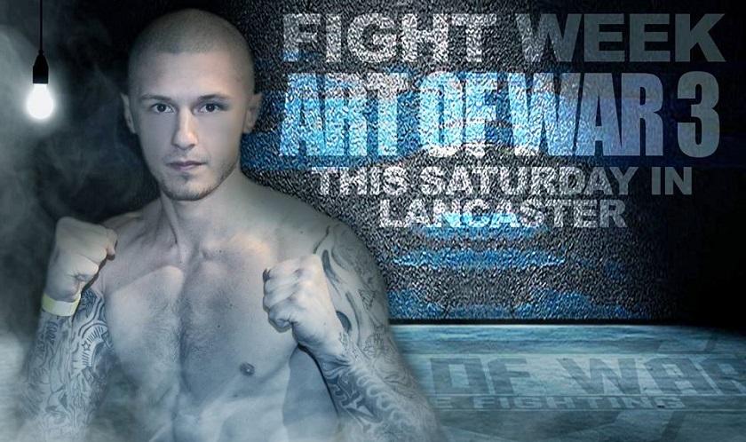 Art of War Cage Fighting 3 Results - Zak Kelly vs. Ryan DiBartolomeo
