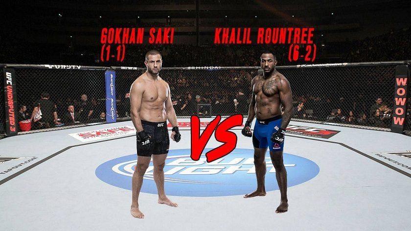Gokhan Saki vs Khalil Rountree Jr. added to UFC 219
