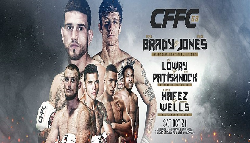 CFFC 68 results – Two titles to be decided in Atlantic City