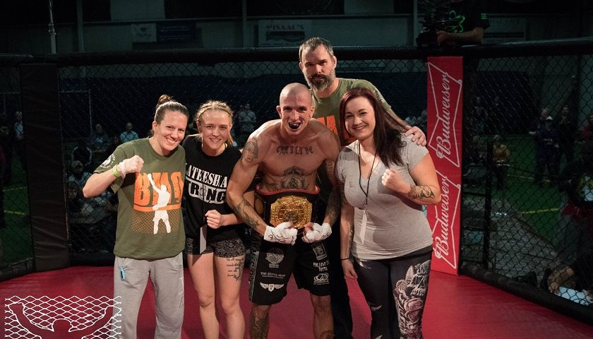 Support system behind the champion – Aubrey Moser represents thousands of MMA spouses