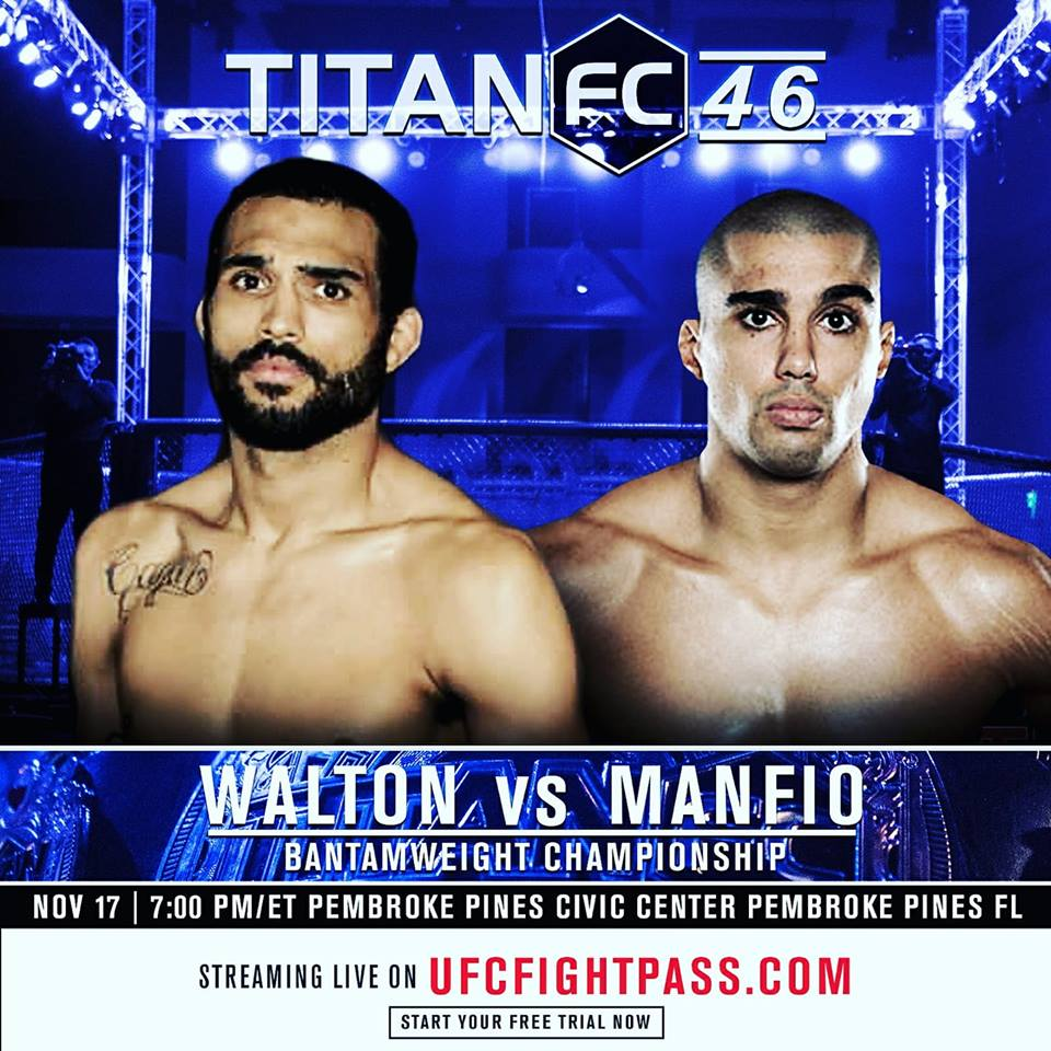 Titan FC 46, Chazz Walton vs Raush Manfio