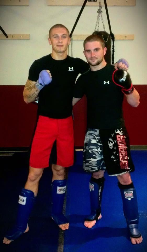 Zak Kelly (left) and Collin Sharpe