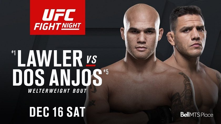 Former UFC champions, Robbie Lawler and Rafael Dos Anjos collide in Winnipeg