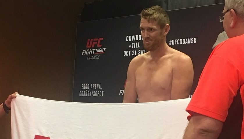 UFC Fight Night 118 weigh-in results – Sam Alvey misses weight on short notice fight