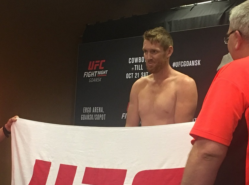 UFC Fight Night 118 weigh-in results - Sam Alvey misses weight on short notice fight