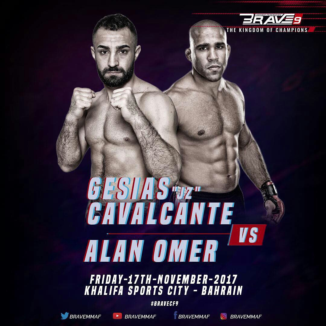 Gesias Cavalcante signs with Brave Combat Federation