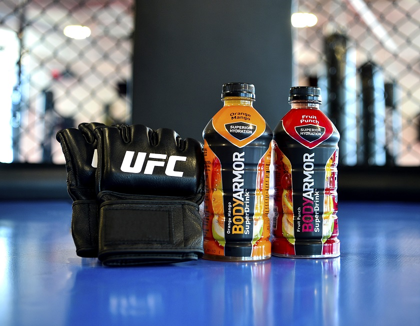UFC announces partnership with BodyArmor sports drink