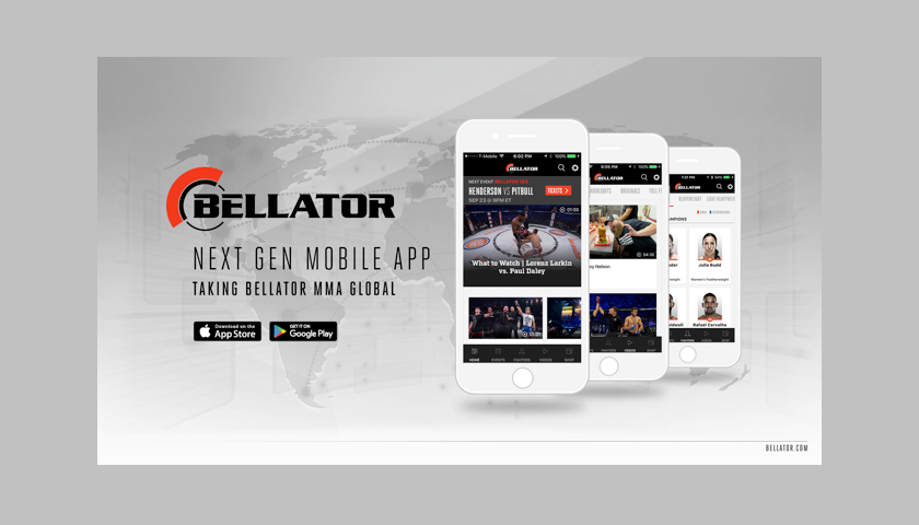 Bellator Launches Global Next Generation Mobile App