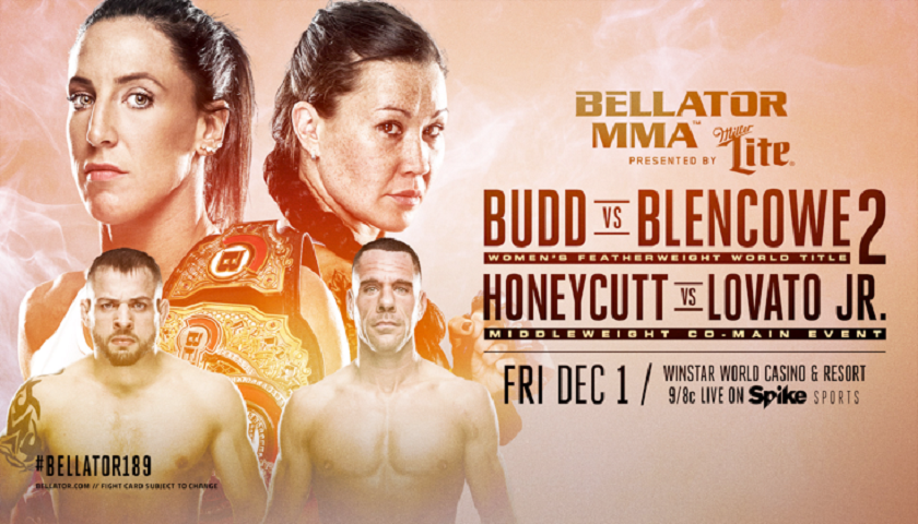 Bellator 189 to Feature Julia Budd in Women's Featherweight Title Defense Against Arlene Blencowe