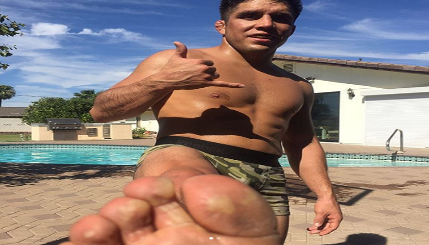 Henry Cejudo forced to jump from balcony after fire destroys building