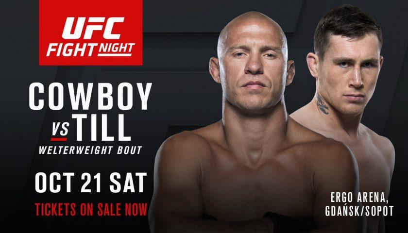 UFC Fight Night 118 – Donald Cerrone vs. Darren Till