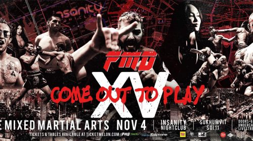 Tommy Hayden Faces Jason Ponet at Full Metal Dojo 15: 'Come out to Play'