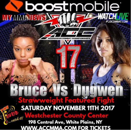 Anastasia Bruce vs Jennifer Dugwen, ACC 17