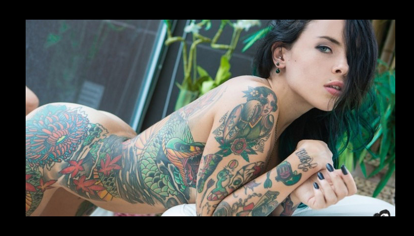 LFA signs Suicide Girls modle Micol DiSegni, better known as Eden Von Hell