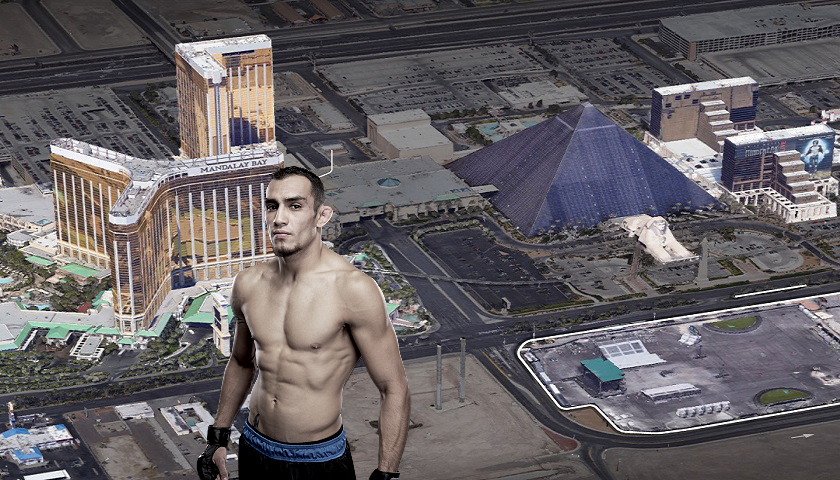 UFC 216 headliner Tony Ferguson's family was headed to music festival where Las Vegas shooting took place