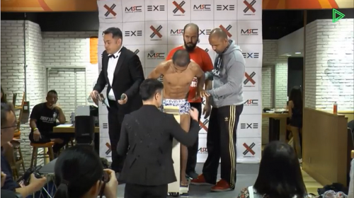 Someone is going to die cutting weight – Fighter cannot stand on own, allowed to fight