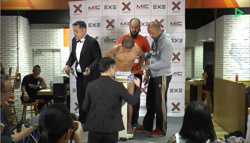 Someone is going to die cutting weight - Fighter cannot stand on own, allowed to fight