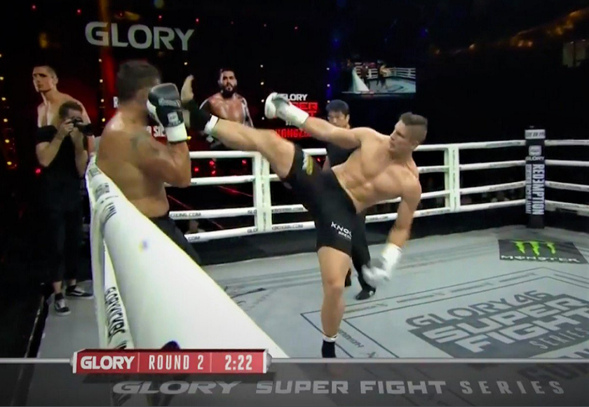GLORY 46 Results - Rico Verhoeven stops Bigfoot in China