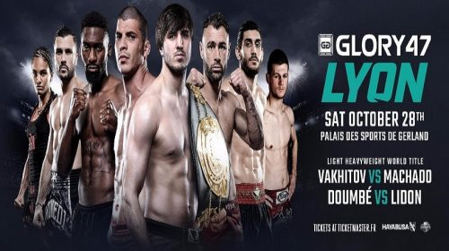 Final five fighters confirmed for Lyon event on Oct. 28 – GLORY 47