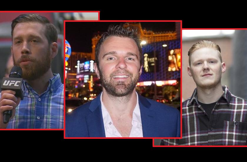 Between the Links - MMA Journalists James Lynch, Mike Dyce, Hunter Homistek