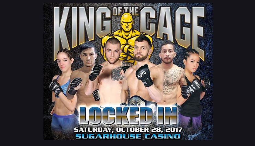 "King of the Cage ""Locked In"" Results from Sugarhouse Casino"