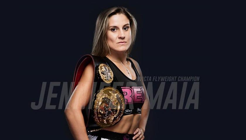 Jennifer Maia Defends Flyweight Title Against Agnieszka Niedźwiedź at Invicta FC 26