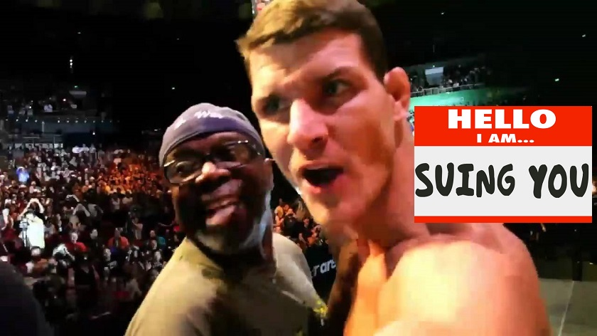 Michael Bisping being sued over alleged attack at 24-Hour Fitness