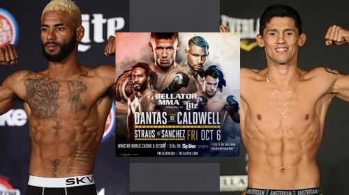 Watch today's Bellator 184 – Caldwell vs. Dantas weigh-ins at noon, 11 a.m. CST