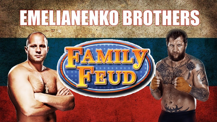 Emelianenko brothers, Alexander and Fedor, have not spoken to one another in 10 years