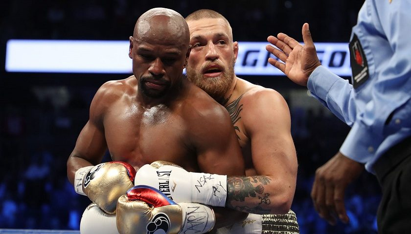 Disqualification would have cost Conor McGregor in Mayweather fight